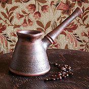 Посуда ручной работы. Ярмарка Мастеров - ручная работа турка №3. Handmade.