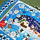 Новый год 2017 ручной работы. Ярмарка Мастеров - ручная работа. Купить ЗИМНИЕ ЗАБАВЫ игра для компании. Handmade. Синий, подарок