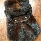 Одежда для питомцев ручной работы. Ярмарка Мастеров - ручная работа Шубка из норки для маленьких собачек. Handmade.