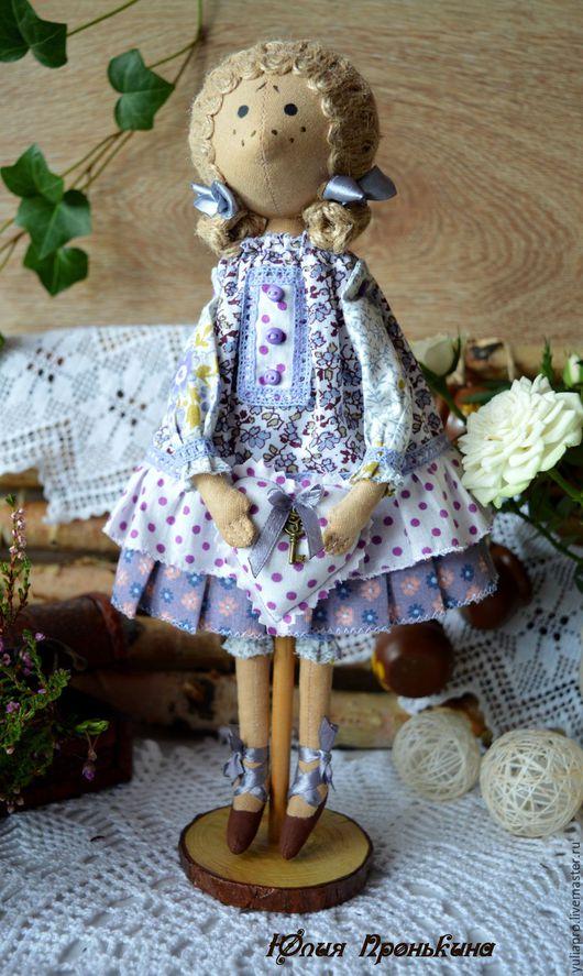Куклы тыквоголовки ручной работы. Ярмарка Мастеров - ручная работа. Купить Текстильная интерьерная куколка Аглая - хранительница домашнего очага. Handmade.