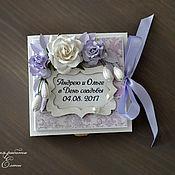 Открытки ручной работы. Ярмарка Мастеров - ручная работа коробочка для денежного подарка (цвет любой). Handmade.