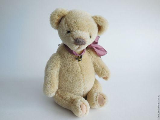 Мишки Тедди ручной работы. Ярмарка Мастеров - ручная работа. Купить Авторский мишка Тедди Медовый. Handmade. Желтый