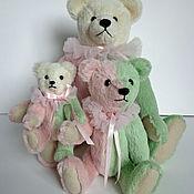 Куклы и игрушки ручной работы. Ярмарка Мастеров - ручная работа Три медведя -цирковая семья Зефир. Handmade.