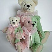 Куклы и игрушки handmade. Livemaster - original item The three bears -circus family Marshmallows. Handmade.
