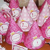 Оформление мероприятий ручной работы. Ярмарка Мастеров - ручная работа Набор для дня рождения принцесса. Handmade.
