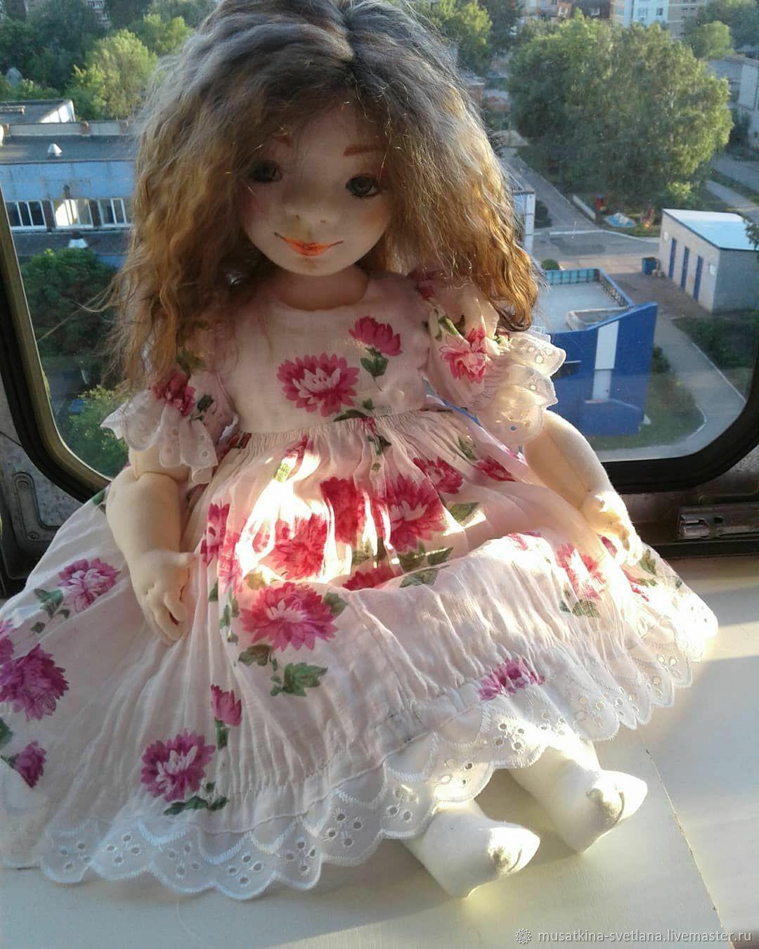 Аленушка, Аленка, Интерьерная кукла, Ульяновск,  Фото №1