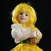 Куклы и игрушки ручной работы. Ярмарка Мастеров - ручная работа Авторская войлочная кукла Ромашка. Handmade.