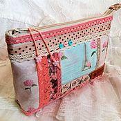 Сумки и аксессуары handmade. Livemaster - original item Cosmetic bag with zipper