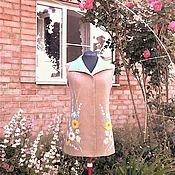 """Одежда ручной работы. Ярмарка Мастеров - ручная работа Валяный жилет """"В гостях у лета"""". Handmade."""