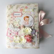 Подарки к праздникам ручной работы. Ярмарка Мастеров - ручная работа Мамин двневник-альбом для девочки. Handmade.