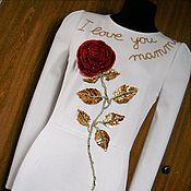 Одежда ручной работы. Ярмарка Мастеров - ручная работа Платье а-ля Dolce&Gabbana. Handmade.