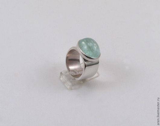 """Кольца ручной работы. Ярмарка Мастеров - ручная работа. Купить Кольцо """"Лазурный берег"""". Handmade. Голубой, кольцо, подарок для девушки"""