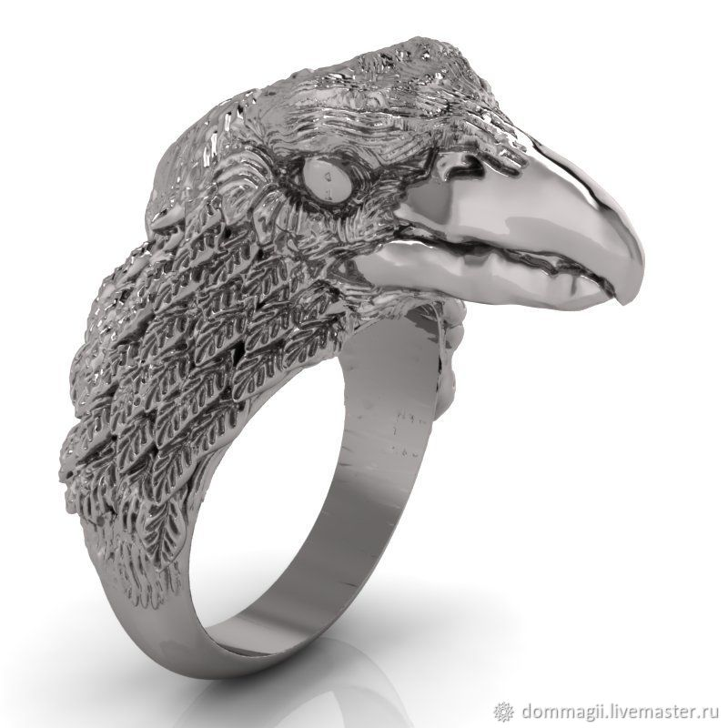 Slavic ring of crows, Amulet, Moscow,  Фото №1