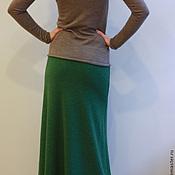 Одежда ручной работы. Ярмарка Мастеров - ручная работа Юбка Цвет молодой зелени. Handmade.
