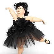 Куклы и игрушки ручной работы. Ярмарка Мастеров - ручная работа Черный лебедь. Handmade.