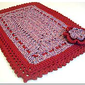 Для дома и интерьера handmade. Livemaster - original item Multi-colored handmade rug Burgundy. Handmade.