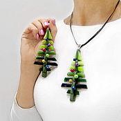 Украшения handmade. Livemaster - original item Pendant-Christmas toy Christmas Trees does not happen much. Handmade.