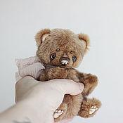 Куклы и игрушки ручной работы. Ярмарка Мастеров - ручная работа Лайл, мишка тедди 15см. Handmade.