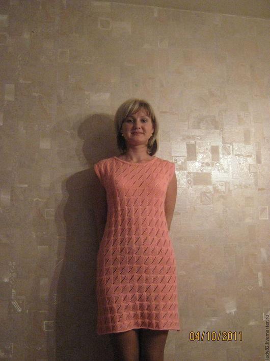 Платья ручной работы. Ярмарка Мастеров - ручная работа. Купить Фламинго. Handmade. Розовый, повседневное платье, полушерсть