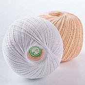 Материалы для творчества handmade. Livemaster - original item Yarn Lily PNK im.Kirova 100% cotton, 440 m, 75 gr.. Handmade.