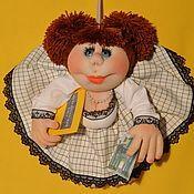 """Куклы и игрушки ручной работы. Ярмарка Мастеров - ручная работа Кукла попик """"кукла на удачу"""" скульптурный текстиль. Handmade."""