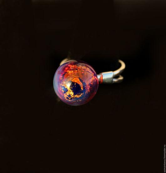 """Кольца ручной работы. Ярмарка Мастеров - ручная работа. Купить Кольцо """"Дежа вю"""". Handmade. Комбинированный, кольцо лэмпворк"""