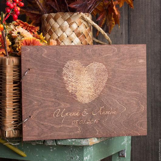 Чтобы ни одно пожелание Ваших гостей не было потеряно, предложите им оставить свои напутствия и пожелания в отдельной книге.
