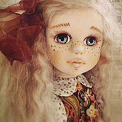 Куклы и игрушки handmade. Livemaster - original item Textile doll Chloe. Handmade.