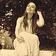 """Платья ручной работы. Заказать Платье крючком """"Брызги шампанского"""", ажурное из хлопка. Ирина ( Vovkiринка ). Ярмарка Мастеров."""