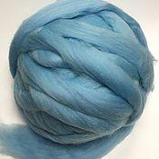 Материалы для творчества handmade. Livemaster - original item Australian Merino pale blue. Germany.19 MD. Wool.. Handmade.