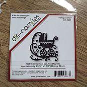 Материалы для творчества handmade. Livemaster - original item !KNIFE for cutting DIE-NAMITES .Fancy Stroller .Cradle. Handmade.