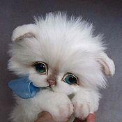 Куклы и игрушки ручной работы. Ярмарка Мастеров - ручная работа котенок Мася :). Handmade.