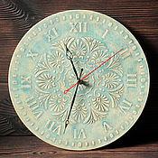 """Для дома и интерьера ручной работы. Ярмарка Мастеров - ручная работа Часы """"Цвета Неба"""". Handmade."""