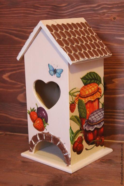 Кухня ручной работы. Ярмарка Мастеров - ручная работа. Купить Чайный домик. Handmade. Чайный домик, домики для пакетиков чая