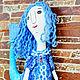 Коллекционные куклы ручной работы. Заказать Гуппяшка. Ирина(текстильная кукла). Ярмарка Мастеров. Рыбка, бязь хлопок