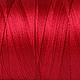 Другие виды рукоделия ручной работы. Ярмарка Мастеров - ручная работа. Купить Нитки для ткачества Хлопковые - красный.. Handmade.