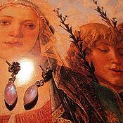 """Украшения ручной работы. Ярмарка Мастеров - ручная работа Серьги """"Поющий ангел"""".. Handmade."""