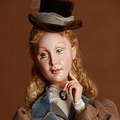 Куклы и игрушки ручной работы. Ярмарка Мастеров - ручная работа Кукла Викторианская охотница. Handmade.