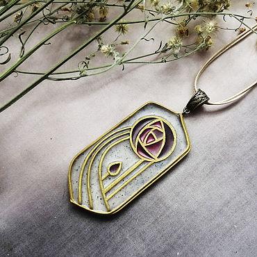 """Decorations handmade. Livemaster - original item Copy of Copy of Art nouveau brooch """"Blackberry"""". Handmade."""