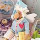 Куклы Тильды ручной работы. Тильда-Ангел сна-Сплюшка. Фатима Мамсирова. Интернет-магазин Ярмарка Мастеров. Ангел, шерсть