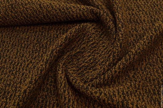 Итальянская пальтовая ткань,  Цвет: коричневый. Для пошива полупальто мягких форм. Мерный лоскут. Остатки 2м и  2,8м. Оптовая цена за остаток  2м - 1760р , за остаток 2,8м - 2460р 2400 руб.