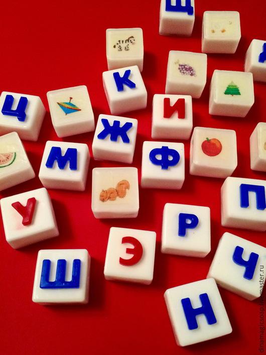 Мыло ручной работы. Ярмарка Мастеров - ручная работа. Купить мыло для детей Азбука. Handmade. Разноцветный, мыльная азбука