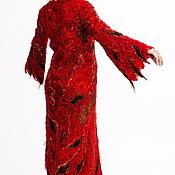 Пальто ручной работы. Ярмарка Мастеров - ручная работа Платье-пальто Царица Тамара. Handmade.