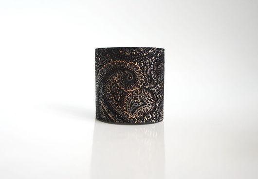 """Браслеты ручной работы. Ярмарка Мастеров - ручная работа. Купить Браслет из замши """"Paisley"""". Handmade. Пейсли, широкий браслет, браслеты"""