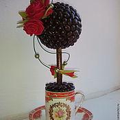 Цветы и флористика ручной работы. Ярмарка Мастеров - ручная работа Топиарий, интерьерная композиция. Handmade.