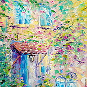 Картины и панно handmade. Livemaster - original item Oil painting on canvas. The Melody Of Provence. Handmade.