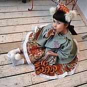 Одежда ручной работы. Ярмарка Мастеров - ручная работа Детское нарядное пальто. Handmade.