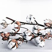 Композиции ручной работы. Ярмарка Мастеров - ручная работа Хлопок ветки. Handmade.