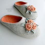 Обувь ручной работы handmade. Livemaster - original item Slippers: women`s Slippers Annabelle. Handmade.