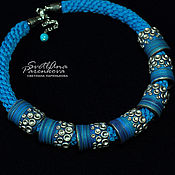 Украшения handmade. Livemaster - original item necklace polymer clay charm (552). Handmade.